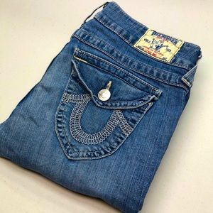 True Religion Jeans HIRISE BOOT 29x30 MADE IN🇺🇸
